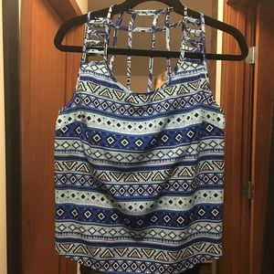 Tops - Tribal Patterned Tank